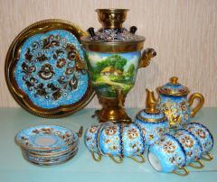 Set tea of 16 objects, No.