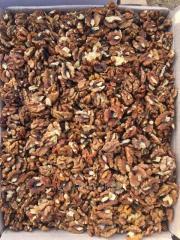 Nuts are walnut, chishchenny, very of good