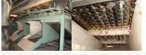 Kalibrovatel of potatoes cucumber sorter car