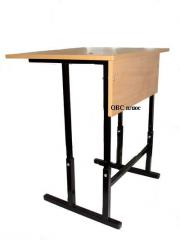 School desk transformer