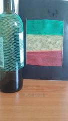 Grid for packing of bottles