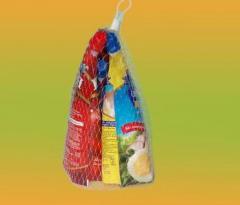 Отрезки сетки длиной 45-50см  для упаковки