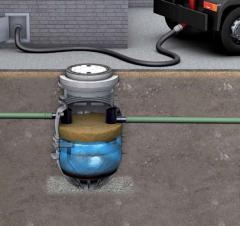Жироуловители и нефтеотделители для заглубленной наружной установки