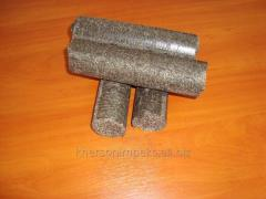 BRIQUETTES from pod, excellent quality, producers,