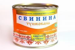 Свинина тушеная ГОСТ 525 г