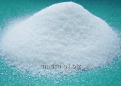 Dextrose monohydrate food in the form of a white