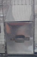 Металлический ящик-купалка для полигамных клеток шиншилл