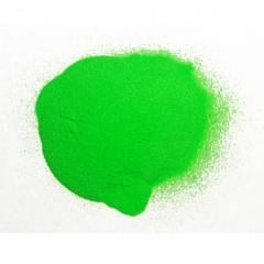 The dark green shining powder - phosphor the TAT
