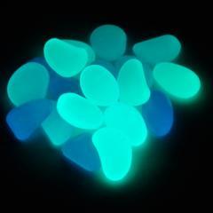 Синие светящиеся камни 25 грамм