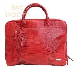 Сумка для ноутбука Vip Collection (2411 red  croco)