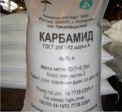 Carbamide (urea) for expor