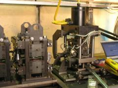 The automatic transfer line of rolling of shelves