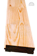 Floor board from pine, jointed in length -