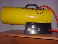 Rent of a gas gun of MAX POWER in Kiev.