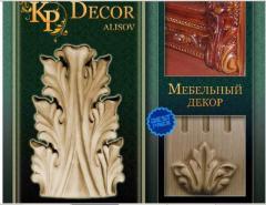 Резной декор, мебельные накладки, декорирование