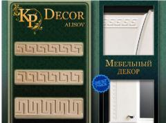 Декор для мебели, элементы декора, мебельные