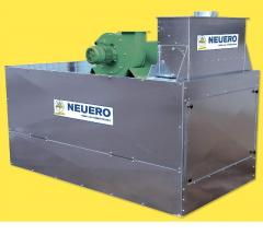 Installation for purification of UniSeed grain of