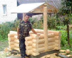 Log buildings for Wells