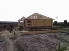 Wooden houses (fellings)