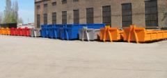 Metal tanks, metal containers, demountable bodies,