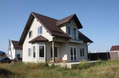Frame wooden houses