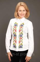The embroidered women's Venochek shir