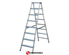 Bilateral step-ladder of Dopplo KRAUSE of 2х8