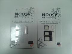 Адаптер сим карт Noosy (Nano SIM/Micro SIM/SIM