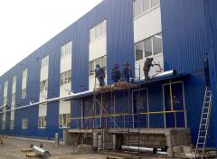 Installation of refrigeration equipment