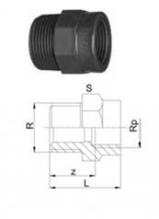 Reducing sleeves, PVC-U R-Rp