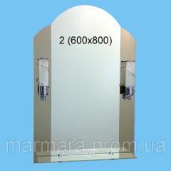Зеркало в ванную комнату Профиль 02 1527