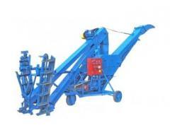 Grain loader self-propelled ZZS-80