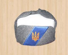 "Cap for a bath ""Ukhanka Ukrainian"