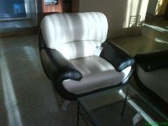 Кресла, диваны кожаные. Изготовление кожаной