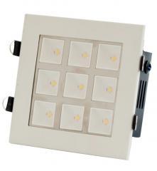 Lamp floor LED CFQ-LED 10 9x1W