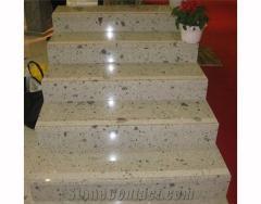 Steps from quartz