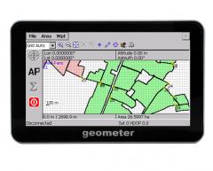 Geometer - precise GPS area measurement device