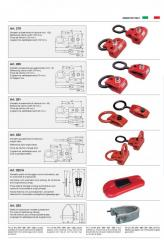 Captures of clamp for straightening, chains,
