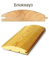 Cladding board from pine