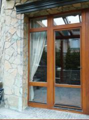 Окна, двери, фасады, интерьеры из натуральной древесины Bosco.