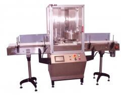 Автомат для закатки крышек на цилиндрические
