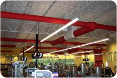 Textile air ducts, fabric air ducts