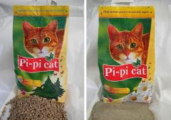 Sand - Fillers for cat's toilets