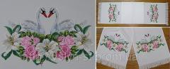 The embroidered bench hammers, wedding bench