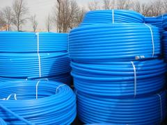 Pipes polyethylene for cold water supply