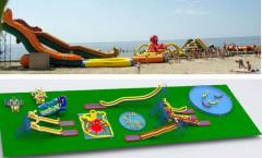 Aquapark on the area of 1 - 2 hectare
