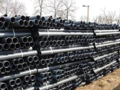 Pipes from PVC for the internal sewerage