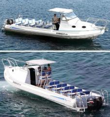 Class RIB boats.