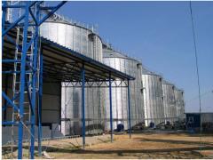 Зернохранилища. Силосные зернохранилища БРОК