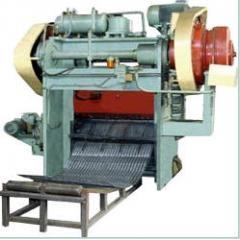 Press dvukhkrivoshipny/Expanded metal machine.